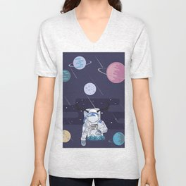 Cosmic world Unisex V-Neck