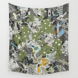 Aperture Science: All science, all the time Wall Tapestry