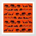 African animals by murashka