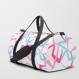 Pink blue fantasy Duffle Bag