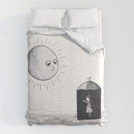 Don't Sunshine On My Rain Parade Comforters