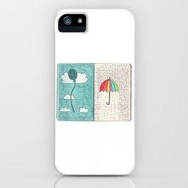 Always trust the weather iPhone Case