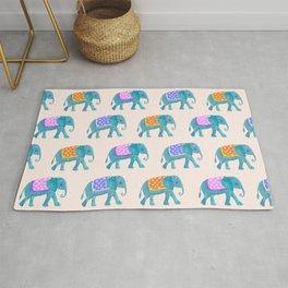cute elephant pattern Rug
