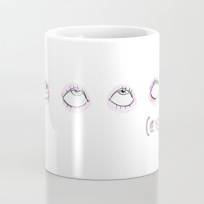 Eye Roll Coffee Mug