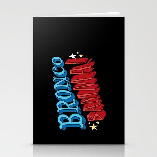 Bronco Bamma! Stationery Cards