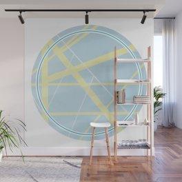 Crossroads ll - circle graphic Wall Mural