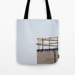 Scaffolding. Tote Bag