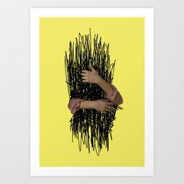 embrace chaos Art Print