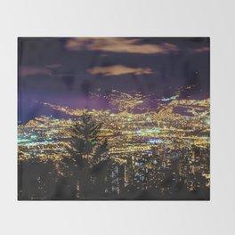 Medellin Night Moves Throw Blanket
