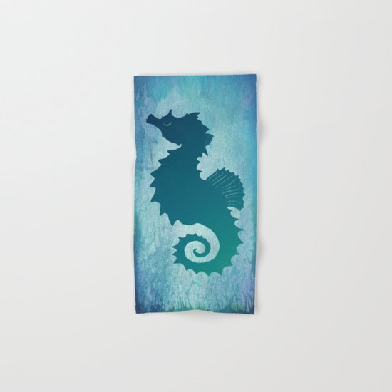 Seahorse of a Different Color ~ Marine Life Hand & Bath Towel