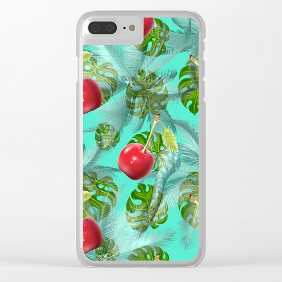 pattern nature Clear iPhone Case
