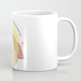 Yoga Golden Retriever Dog Coffee Mug