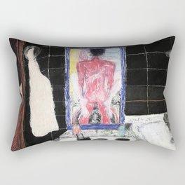 A Washing Machine Rectangular Pillow