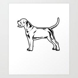 Mastiff Gift Italian Mastiff Cane Corso Design Art Print