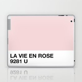 la vie en rose Laptop & iPad Skin