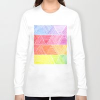 rainbow Long Sleeve T-shirts featuring Rainbow by Elisa Rosa