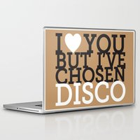 disco Laptop & iPad Skins featuring Disco by neil parrish