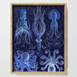 Haeckel Octopi Serving Tray