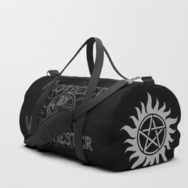 Protected by Sam Winchester Duffle Bag