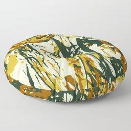 Brown Forest Floor Pillow