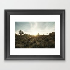 Joshua Tree Portrait 1 Framed Art Print