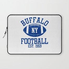 Buffalo Football Fan Gift Present Idea Laptop Sleeve