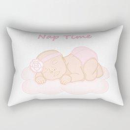 Nap Time Rectangular Pillow
