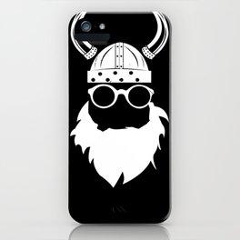 Nerd viking iPhone Case