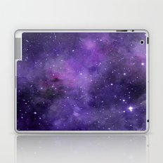 Purple Watercolor Space Pattern Laptop & iPad Skin