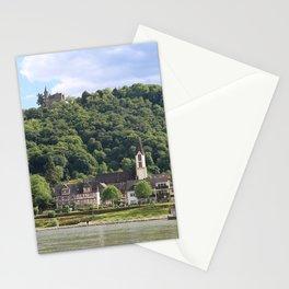 Burg Osterspai am Rhein Stationery Cards