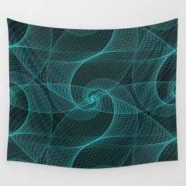 The Great Spiraling Unknown Wall Tapestry