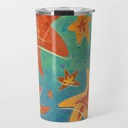 Starry Starfish Night Travel Mug