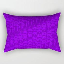 Video Game Controllers - Purple Rectangular Pillow