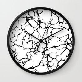 Marble veins Wall Clock