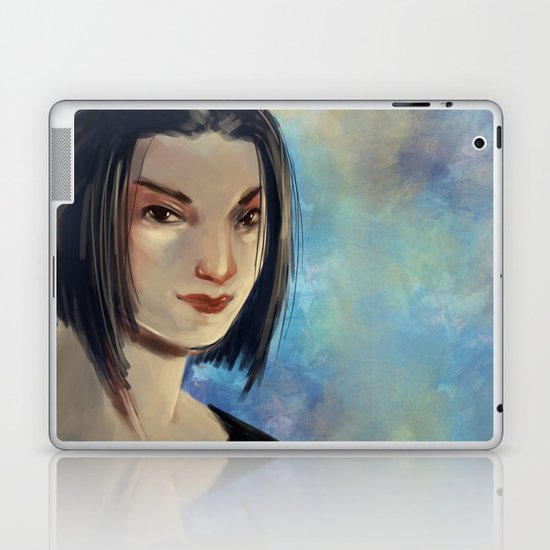 Asian Woman Laptop & iPad Skin