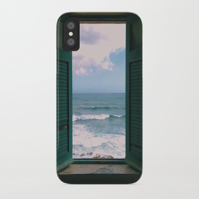 atlantic morning iphone case