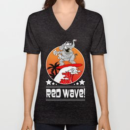 Republican Elephant Red Wave Midterm Vote 2018 Unisex V-Neck