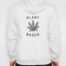 plant based marijuana leaf Hoody