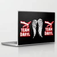 daryl Laptop & iPad Skins featuring Team Daryl by Jera Sky