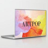artpop Laptop & iPad Skins featuring ARTPOP  by IngCK