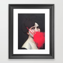 Giddy Framed Art Print