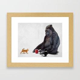 I Should, Koko (Wordless) Framed Art Print