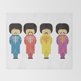 Sargent Pepper Throw Blanket