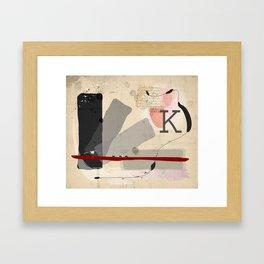 Letter to Felice Framed Art Print