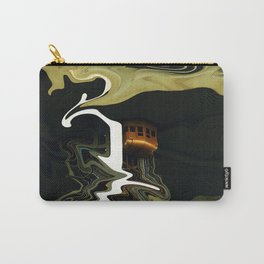 Wavy Elevator Carry-All Pouch