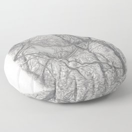 Glimpse of Nature Floor Pillow