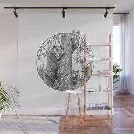 Bears Wall Mural
