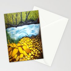 Golden Autumn Stationery Cards