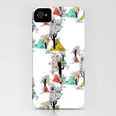 Tree Triangles iPhone (4, 4s) Slim Case