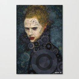 RITRATTO in blu Canvas Print